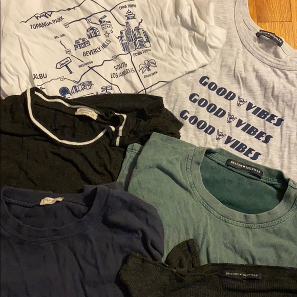 Brandy Melville Tee Shirts